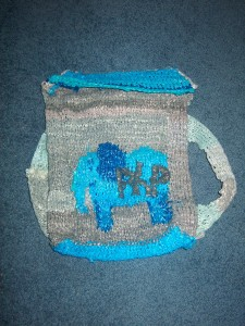 PHP Elephant Plarn Backpack